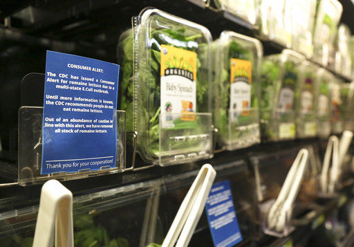 US officials: It's OK to eat some romaine, look for labels