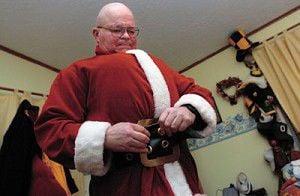 Santa Spike spreads smiles
