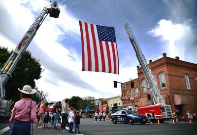Pendleton raises its flag for the Fourth