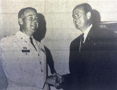 New depot commander welcomed in 1967