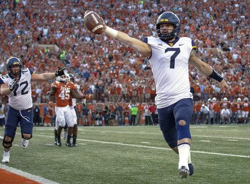 Grier looks for win in final home game for No. 12 WVU