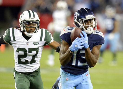 Titans' trio of young wide receivers starting to produce