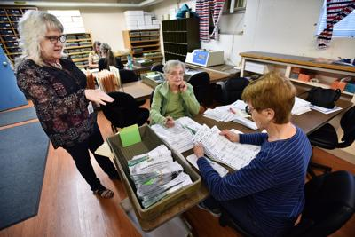 Ballots trickle in as election day nears