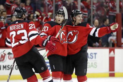 new concept 8b623 4a539 Kyle Palmieri helps Devils beat Panthers 3-2   Pro ...