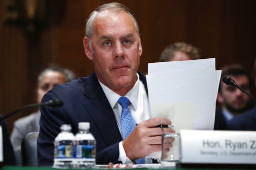 APNewsBreak: Watchdog clears Zinke in Utah monument probe