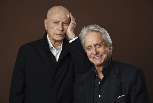 Michael Douglas, Alan Arkin act their age for laughs, tears