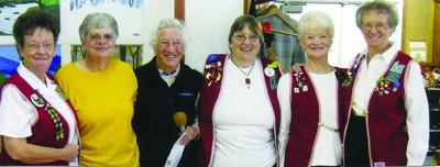 Senior center soars with Eagles Auxiliary donation