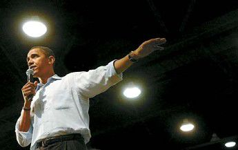 Obama campaign comes to Pendleton