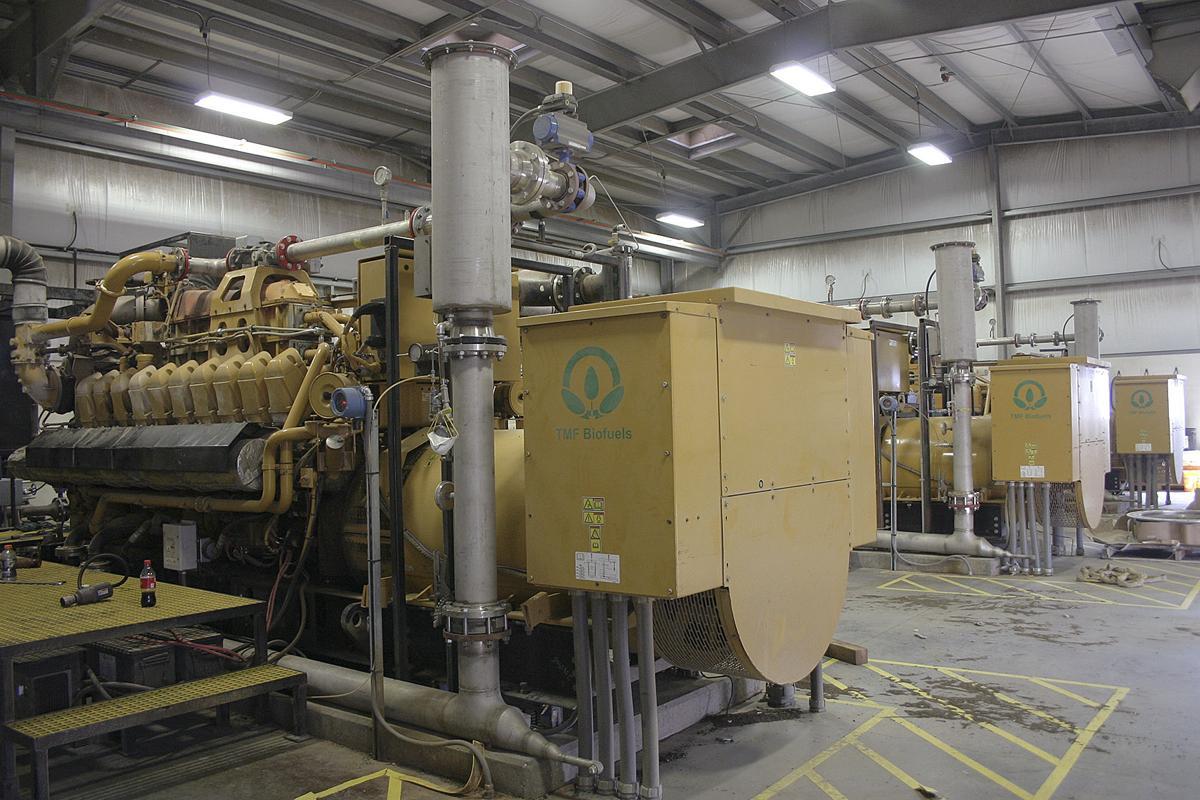 Manure digester engines