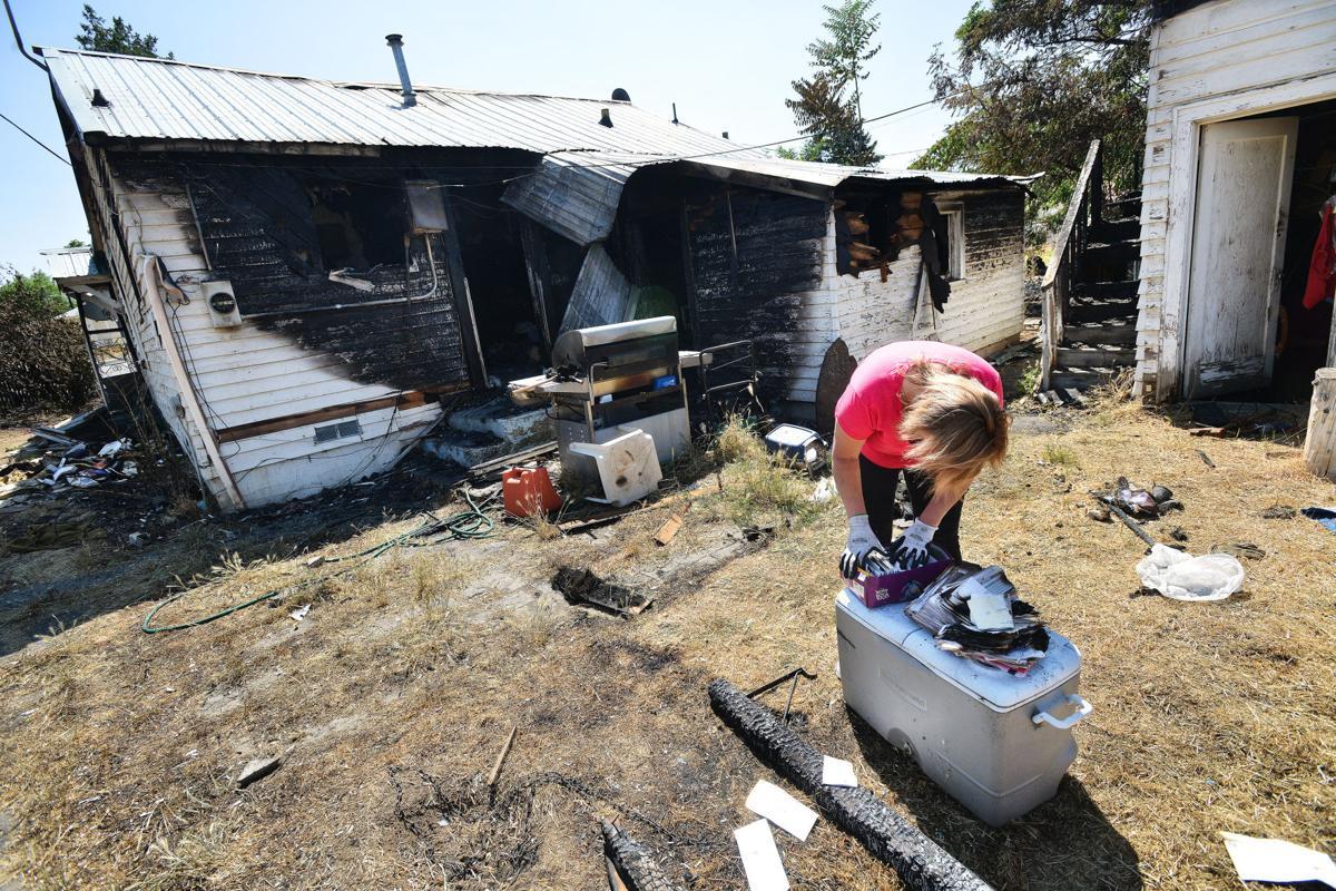 One dead in arson fire