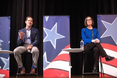 In tight race, Brown and Buehler prepare for final gubernatorial debate