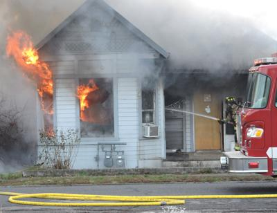 Fire burns out Pendleton residents