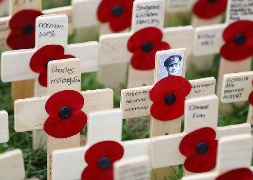 Elaborate preparations in UK to mark Armistice Day centenary