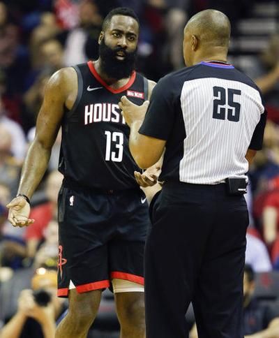 9bce0220ebec Harden to miss at least 2 games with hamstring injury