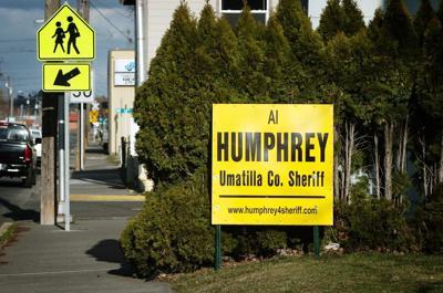 Humphrey warned?on signs