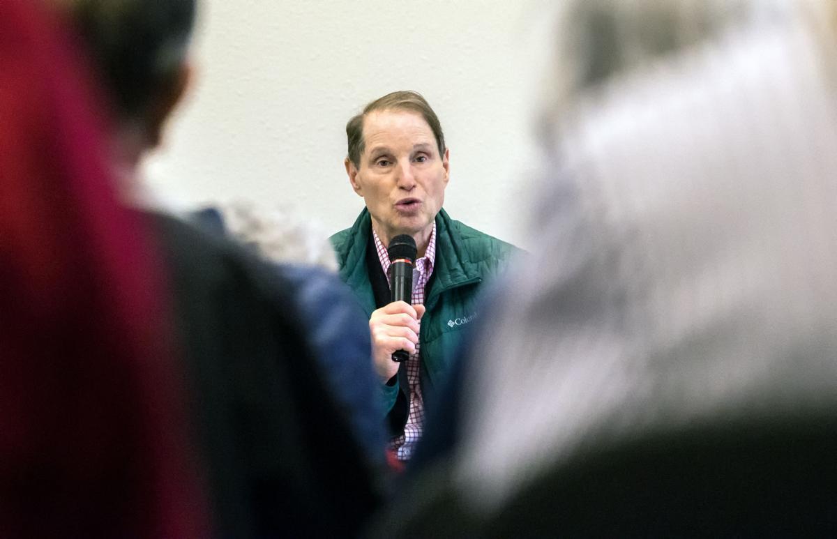 Wyden talks healthcare