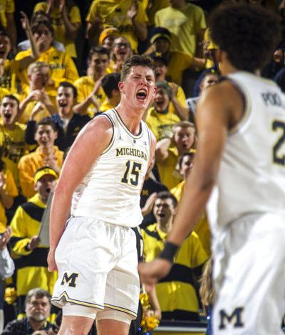 Impressive wins push Michigan to No. 5 in new AP Top 25 poll