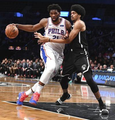 Rough road: Brown says 76ers not yet among East's 'royalty'