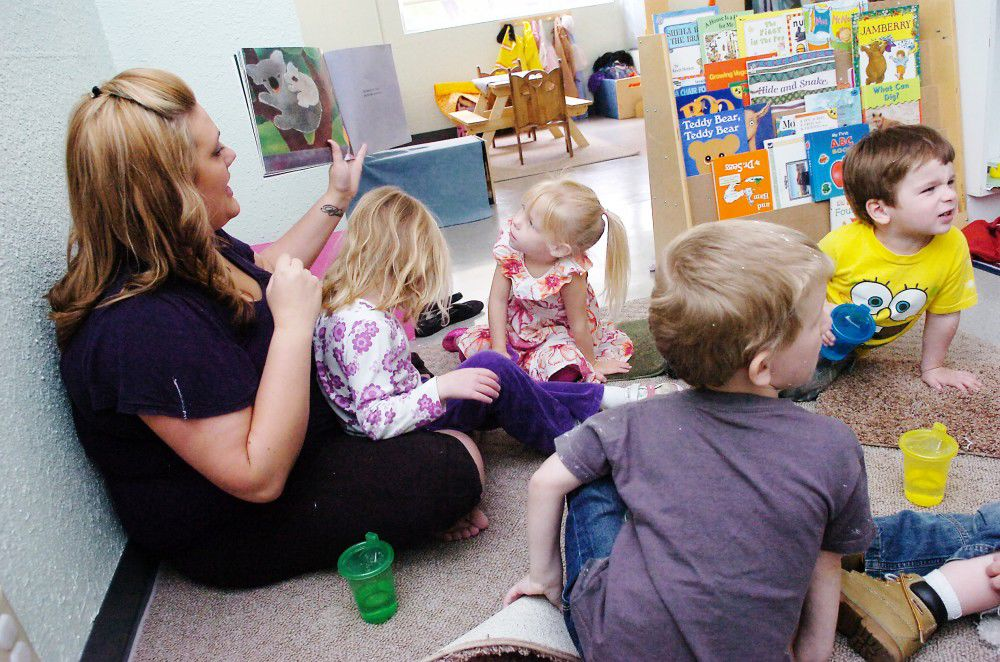 Relief on the homefront: Nursery helps families, children in Pendleton cope