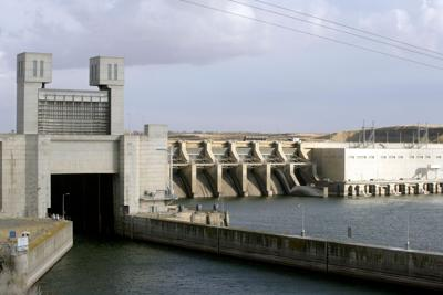 Ice Harbor Dam and lock