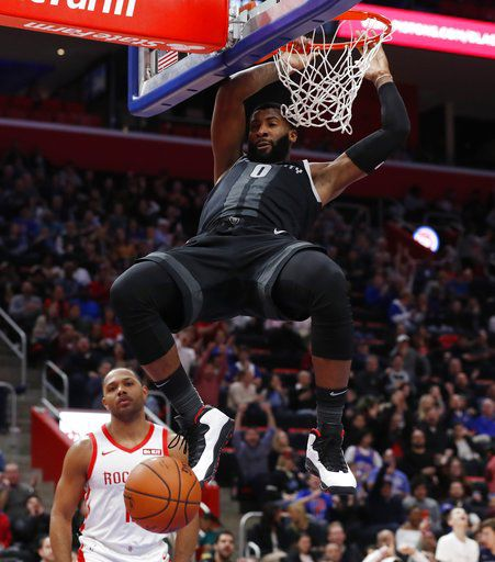 Jackson scores 22, leads Pistons past Rockets 116-111 in OT
