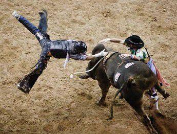 Harris takes world bull riding title