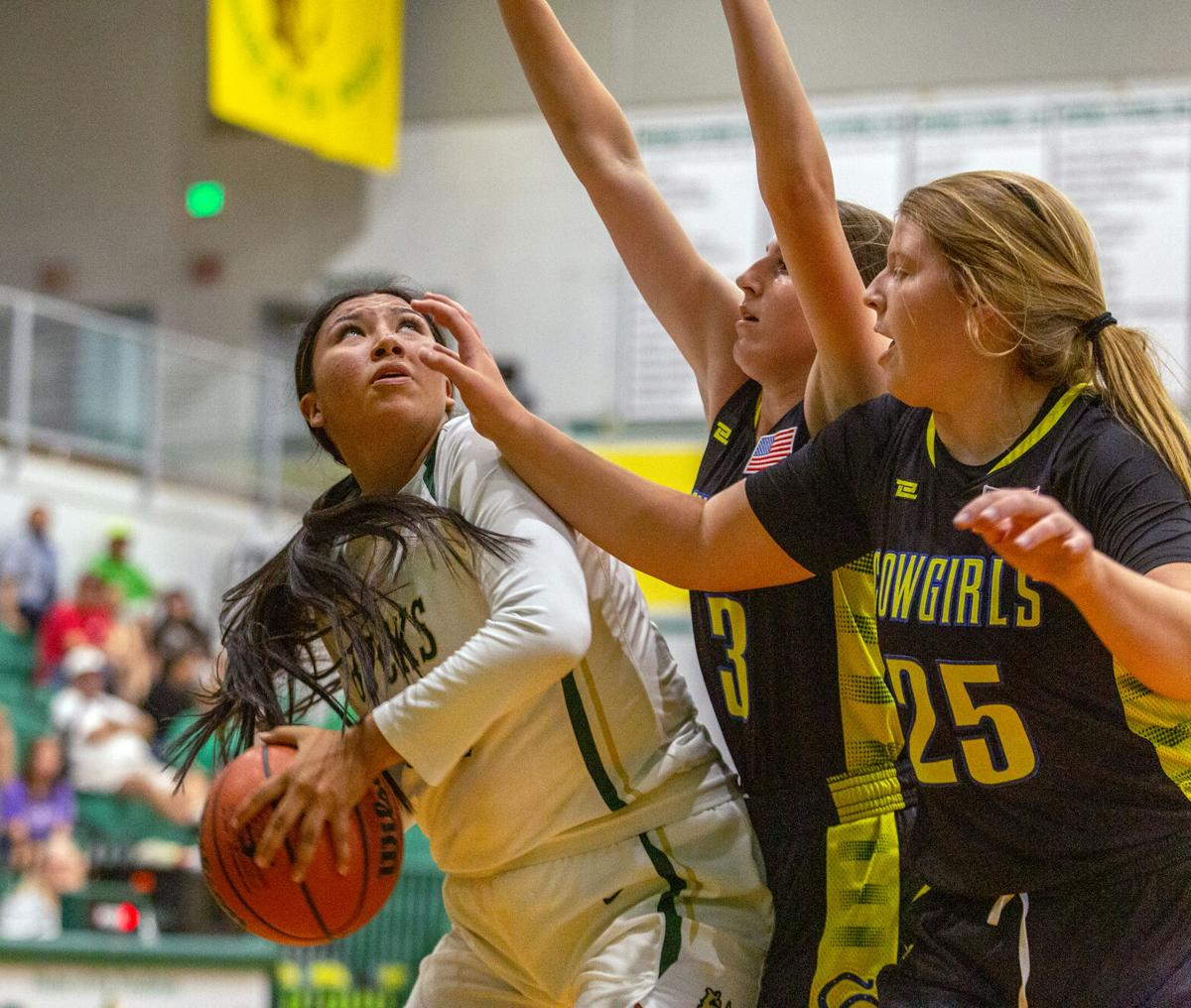 Pendleton v Crook County girls basketball