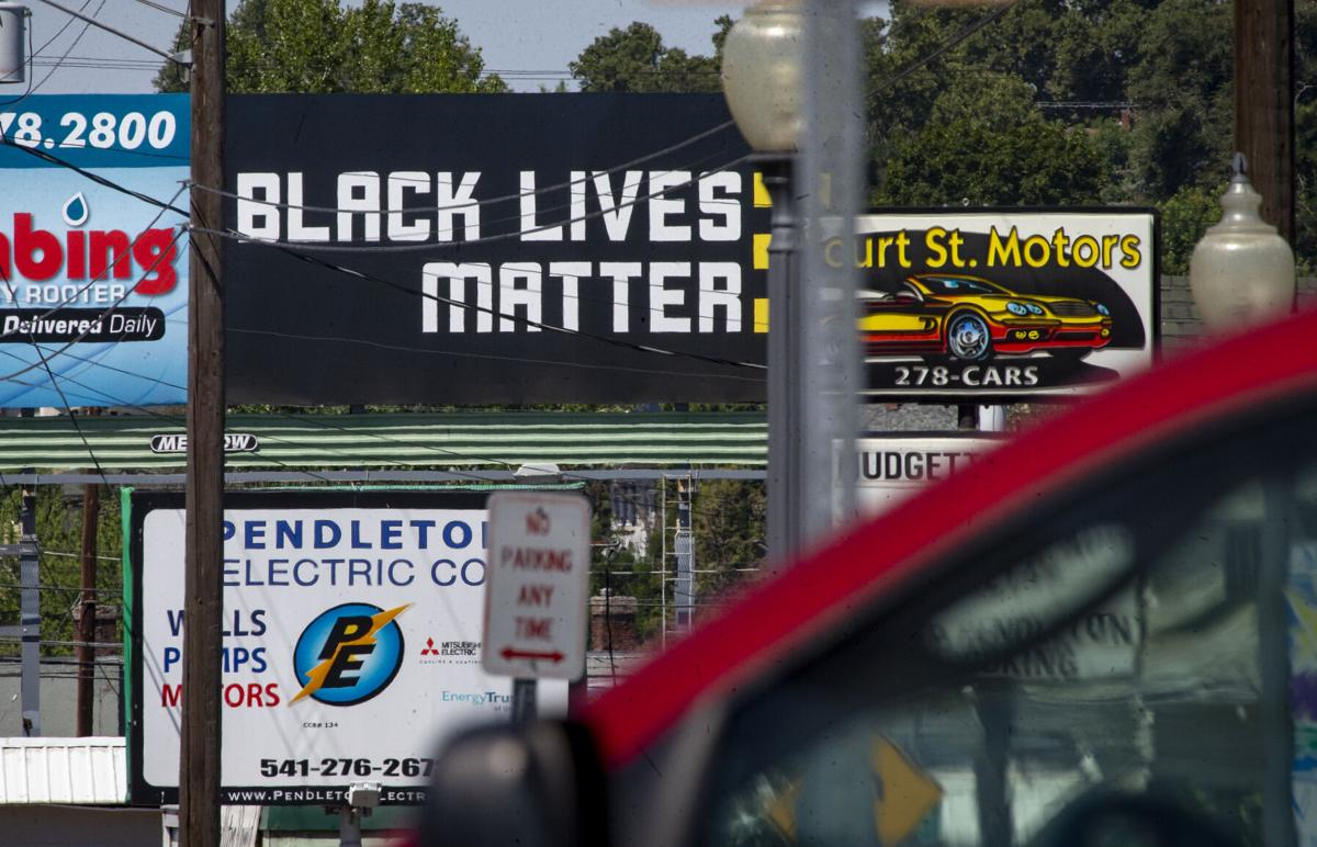 Black Lives Matter Billboard
