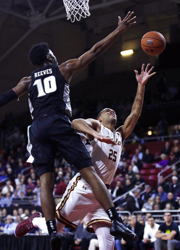 Jackson's free throws help Providence beat BC in OT