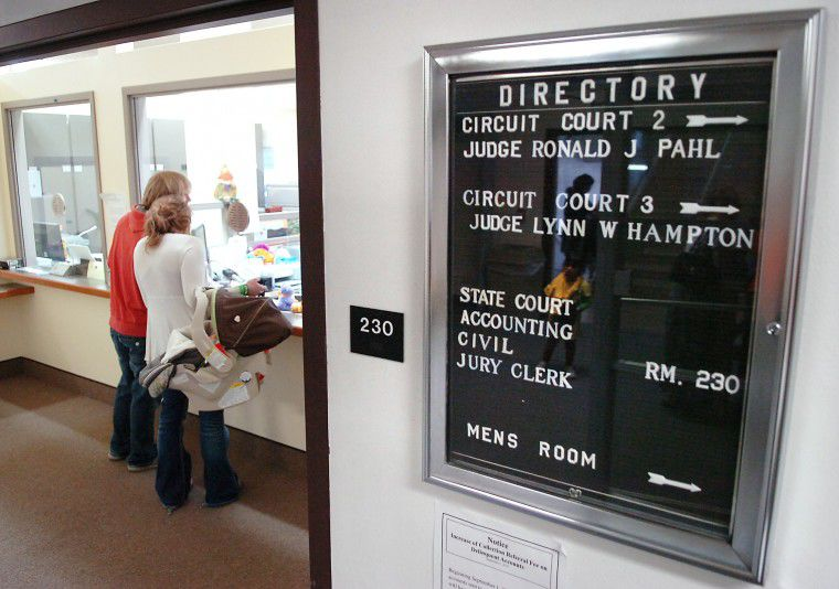 Courts take unexpected furlough