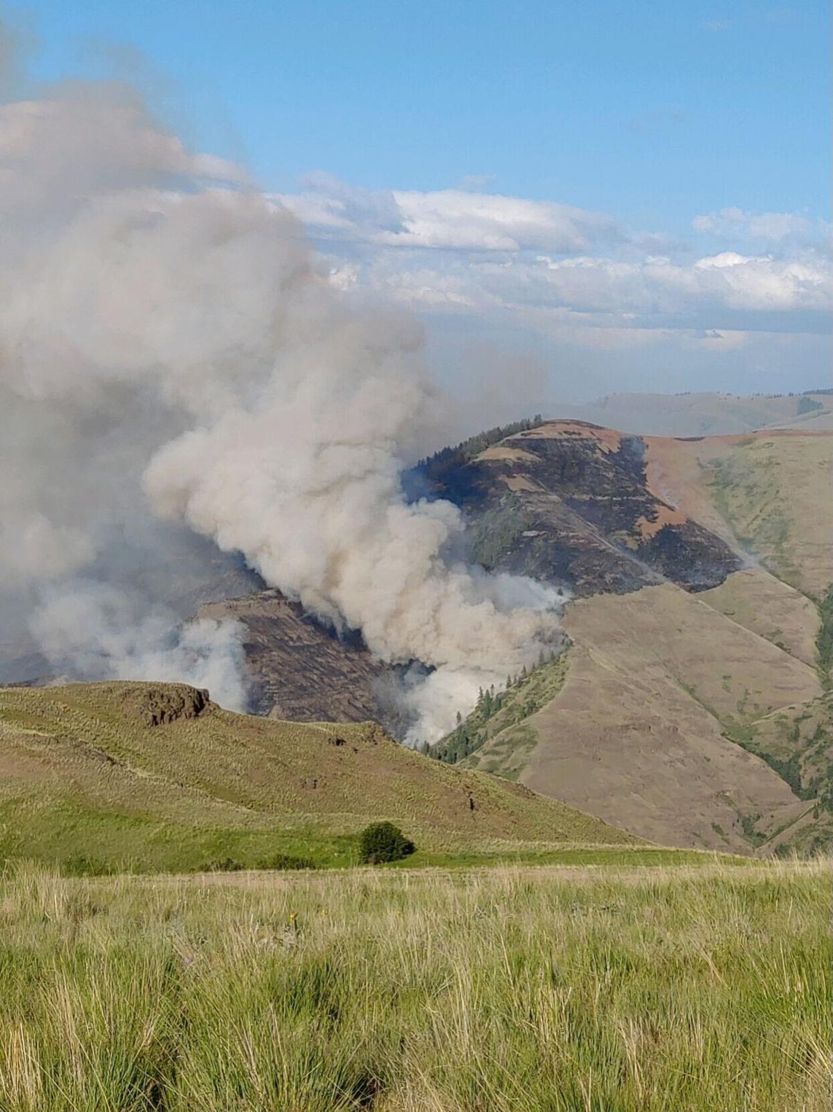Joseph Canyon Fire