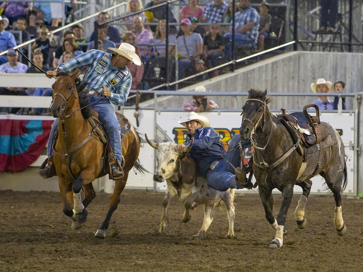Farm City Pro Rodeo Friday night