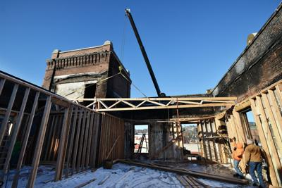 PENDLETON Old city hall faces daily fines  as winter hits and repair slows