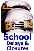 The following school districts will be CLOSED on Friday, Dec. 19