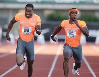 With Gay gone, Rodgers takes men's 100