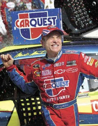 50-year-old Mark Martin wins Cup race in Michigan