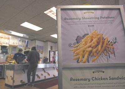 Weighty debate: Calorie counts on menus