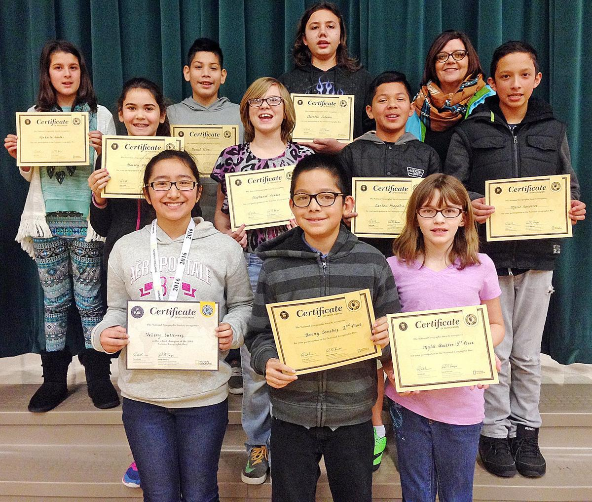 Windy River student buzzes through Geography Bee