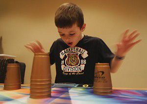 Speed-stacking cups: odd 'sport' becomes a hit among youngsters
