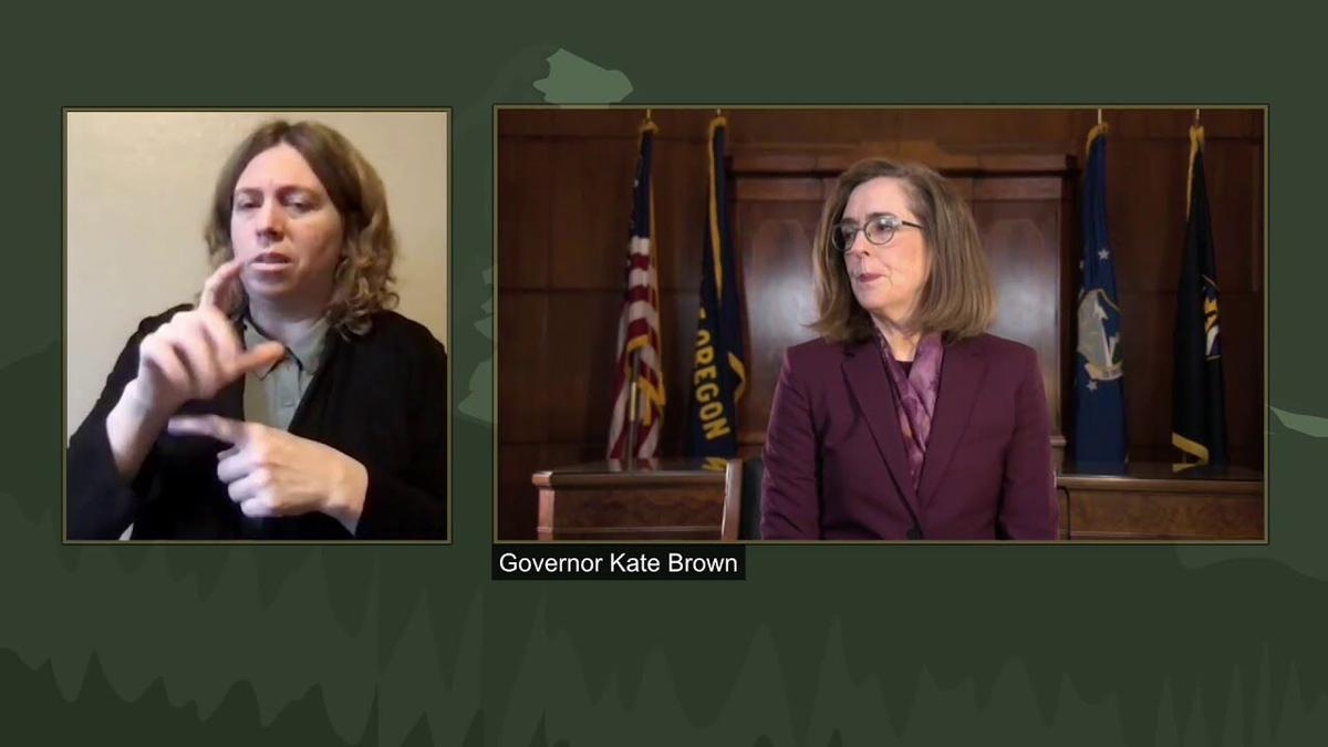 Press Briefing with Gov. Kate Brown, Nov. 25, 2020
