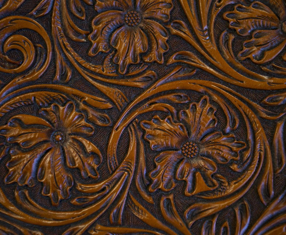 Floral Saddle Detail