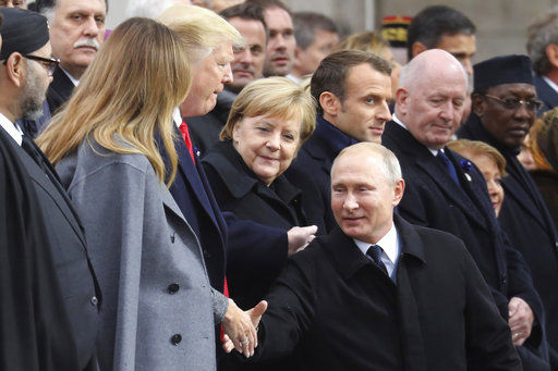 The Latest: Leaders discuss Ukraine elections at Paris meet