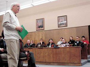 Students tour county government