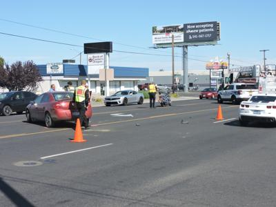Hermiston police are investigating a two-vehicle crash
