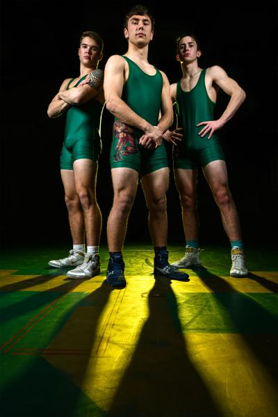 State wrestling   3 Buckaroos