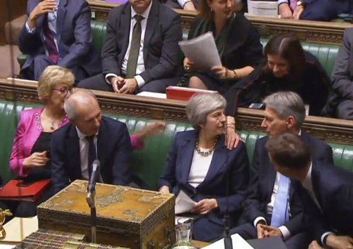 UK Parliament, PM May's govt face off in Brexit showdown