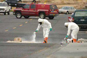 Hazmat team responds to Boardman acid spill