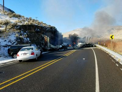 Head-on crash kills drivers of two commercial vehicles