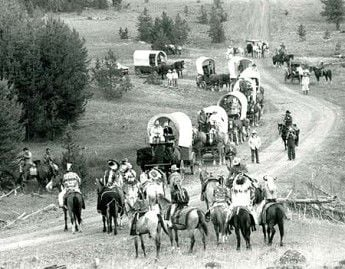 Wagon train has been giving a real Oregon Trail experience since 1983