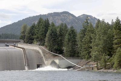 Express lane for fish: Migrating salmon get a boost past dams